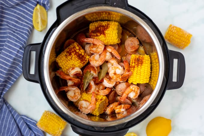 Instant Pot Shrimp Boil Recipe