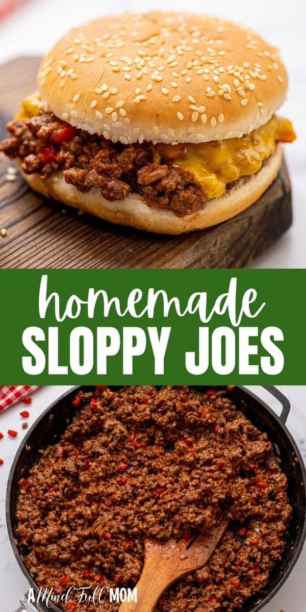 Made in less than 30 minutes with lean ground meat and a sweet and tangy homemade sauce, Sloppy Joes are a true family favorite!