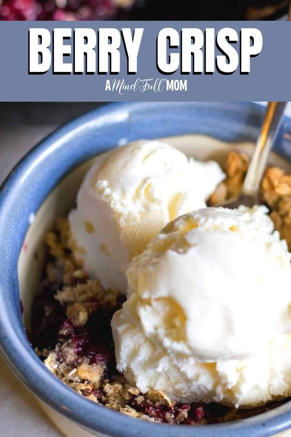 Made with juicy, plump berries and a buttery oat topping, this Berry Crisp is one easy and satisfying summer dessert.