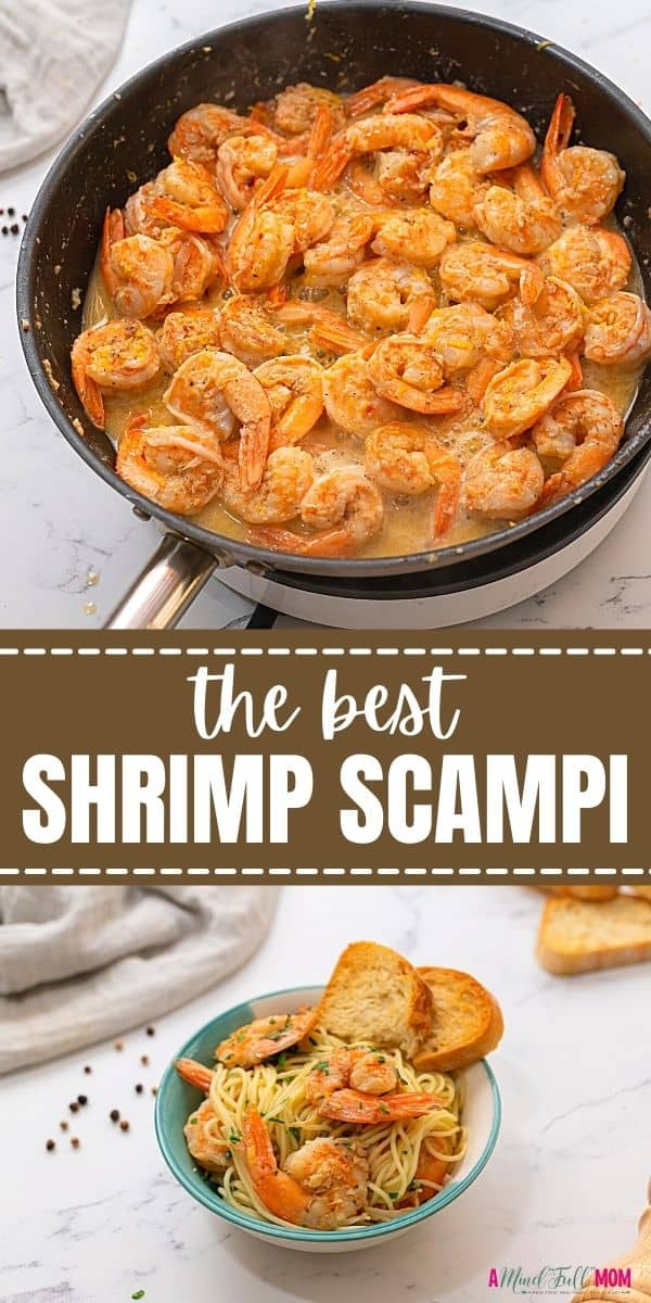 Shrimp Scampi cooks up extremely fast--less than 15 minutes! This Shrimp Scampi Pasta is made with juicy shrimp, angel hair pasta, and a rich, buttery sauce. It is the perfect dish for a quick weeknight meal, yet the flavor is so rich and impressive, you can even rely on this recipe for serving to company.