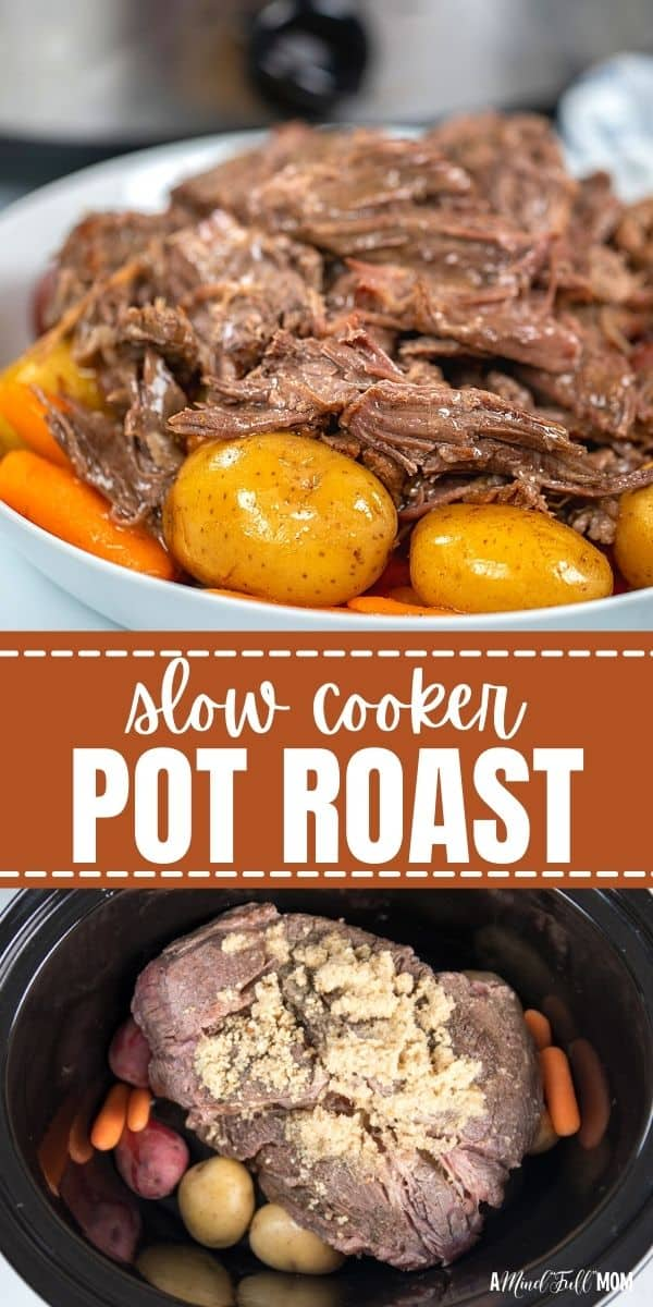 Slow Cooker Pot Roast is made with only 5 key ingredients and minimal prep work, yet is one of the most flavorful, comforting recipes for pot roast you will ever enjoy!