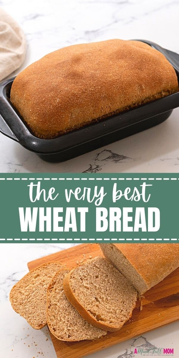 This recipe for Honey Wheat Bread is simply the VERY best whole wheat bread you will ever eat! Made with 100% whole grains, this wheat bread is soft, tender, and easy to make!
